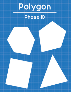 Polygon Phase 10 Card Game