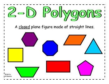 Polygon Poster By Amber R Teachers Pay Teachers