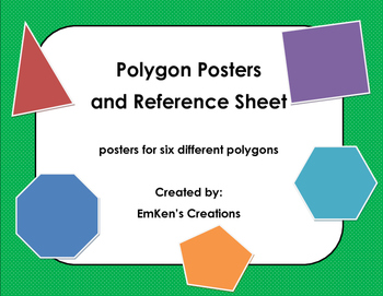Polygon Posters and Reference Sheet