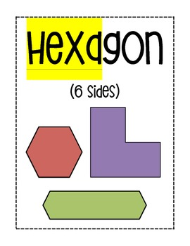 Polygon Prefixes Posters (5th Grade EnVision Math)