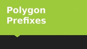 Polygon Prefixes PowerPoint