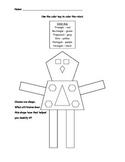 Polygon Robot Color Sheet