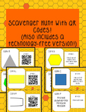 Polygon Scavenger Hunt-With and Without QR Codes!