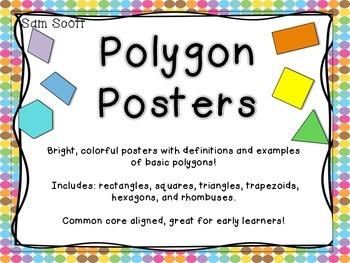 Polygon Shape Posters