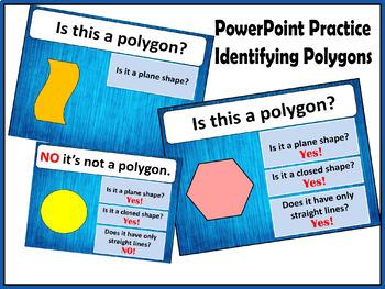 Polygon Shapes Plane.