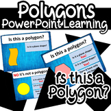 Polygon Shapes Plane.