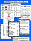 Polygon Shapes and Prefixes / Root Words--Connect Literacy with Math!