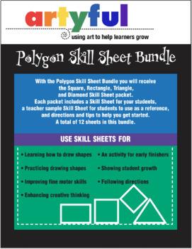 Polygon Skill Sheet Bundle