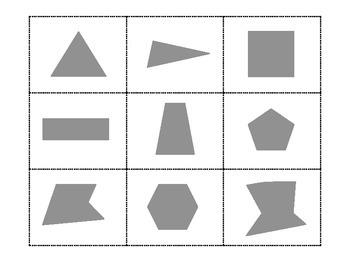 Polygon Sorting Game. Regular or Irregular Geometry Center.  Review