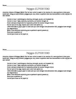 Polygon Superhero Project