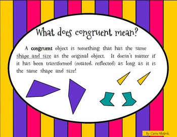 Polygon Transformations,Symmetry,Congruent/Similar Presentation and Assessment