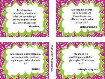 Polygon Trilogy: Math Centers and Activity Pack (Common Core Aligned)