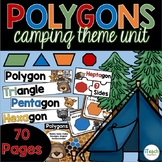 Polygon Unit for Geometry | Classifying Polygons, Word Wall, Posters, and More