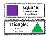 Polygon Vocab Cards