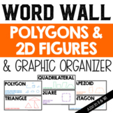 Polygon Vocabulary Word Wall and Graphic Organizer