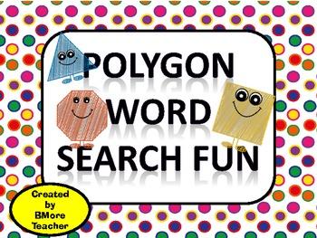 Polygon Word Search Fun Center