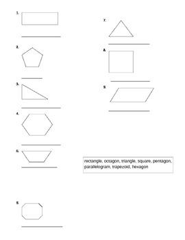 Polygon Worksheet
