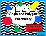Polygon and Angle Posters and Bookmarks