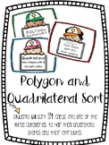 Polygon and Quadrilateral Sort