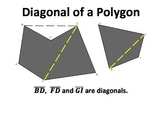 Polygon and Quadrilateral Word Wall (English Only and Engl
