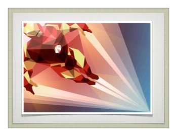 Polygon illustration powerpoint