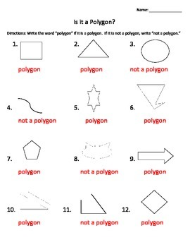 Polygon or Not