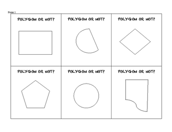Polygon or Not? A Geometry Card Game