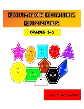 Polygon review puzzles