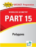 Polygons - 10 pages 49 questions with answer key