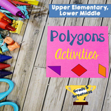 Classifying Polygons Math Games and Activities