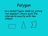 Polygons - PowerPoint - Notes - Worksheet - Key Included
