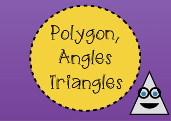 Polygons, Angles & Triangles: Worksheet Supplements