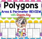 Polygons Area and Perimeter Geometry Squares Triangles Parallelograms Trapezoids