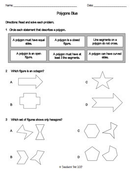 Polygons Assessments