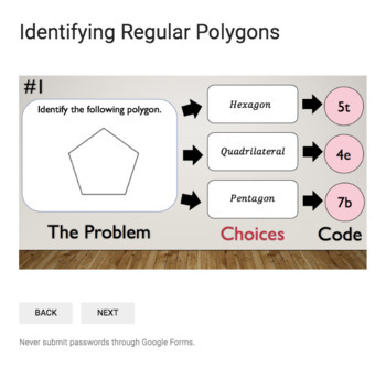 Polygons – Bad Dog Breakout Bundle for Google Classroom!