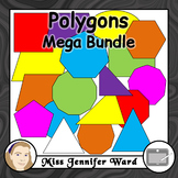 Polygons Clipart MEGA BUNDLE