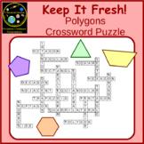 Polygons Crossword Puzzle
