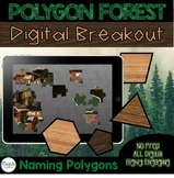 Distance Learning: Polygons Digital Escape Room | Geometry