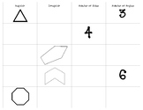 Polygons Flipchart Notes