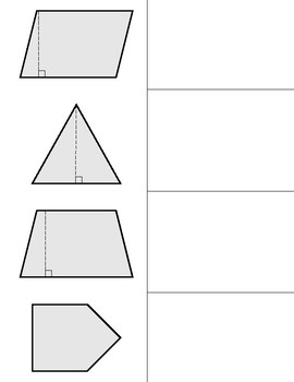 Polygons Foldable