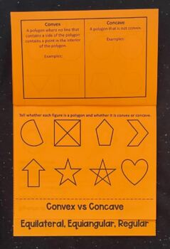 Polygons (Geometry Foldable)