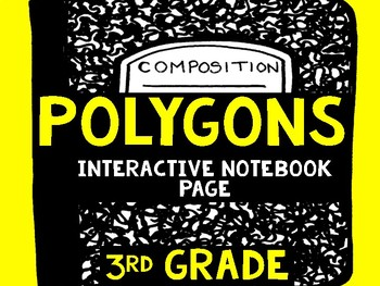 Polygons Interactive Notebook Page