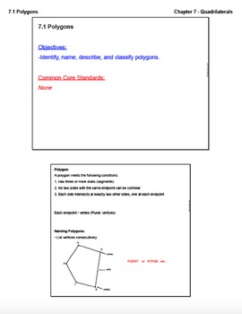 Polygons (Lesson with Homework)