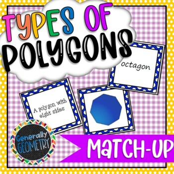 Polygons Match-Up; Geometry