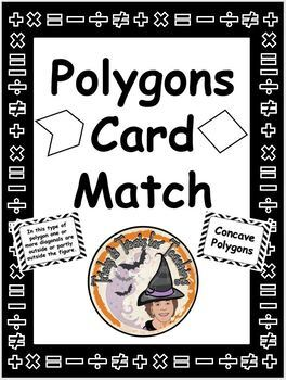 Polygons Geometry Matching Card Game Match Picture Definit