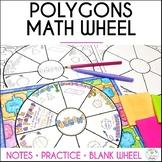 Polygons Math Wheel