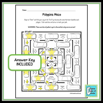 Polygons Maze