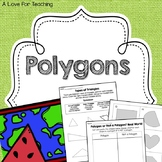 Polygons {Print & Go + Digital Resources}