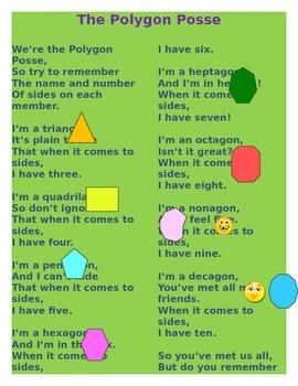 Polygons Poem