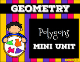 Polygons Presentation and Assessment/Vocabulary Pack